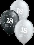 18 pearl onyx silver-18 schwarz silber.fw