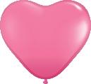 sempertex 16 inch- latexherzen pink.fw